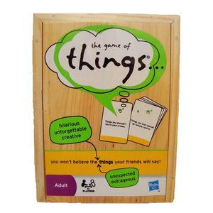 The Game of Things Adult Version Ages 14 +